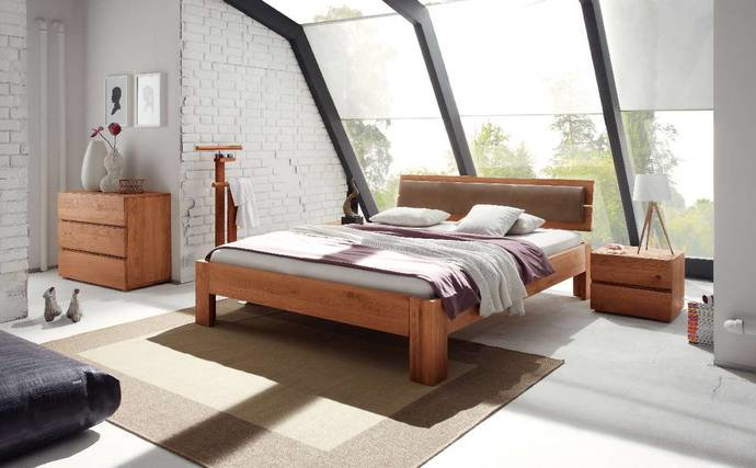 hasena eichen holz bett oak line. Black Bedroom Furniture Sets. Home Design Ideas