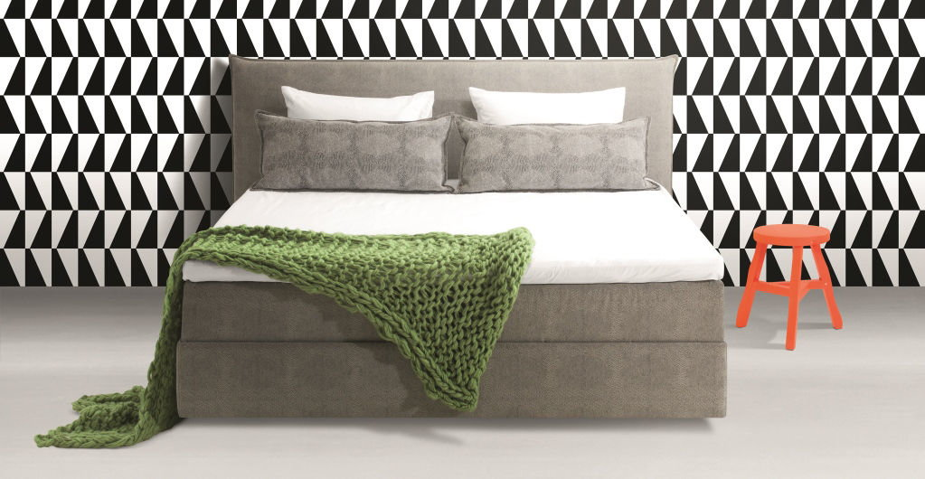 riposa boxspring bett aurora. Black Bedroom Furniture Sets. Home Design Ideas