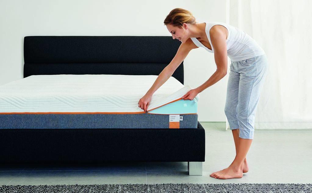tempur matratzenbezug waschen