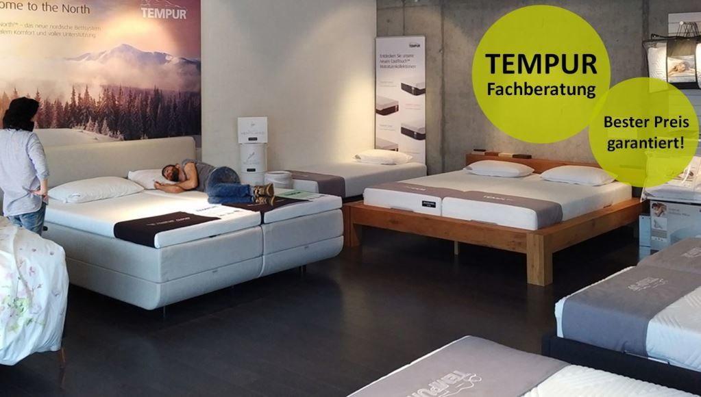a7f792a85e3682 Tempur Ausstellung und Beratung - Vergleichbare Preise wie in Deutschland