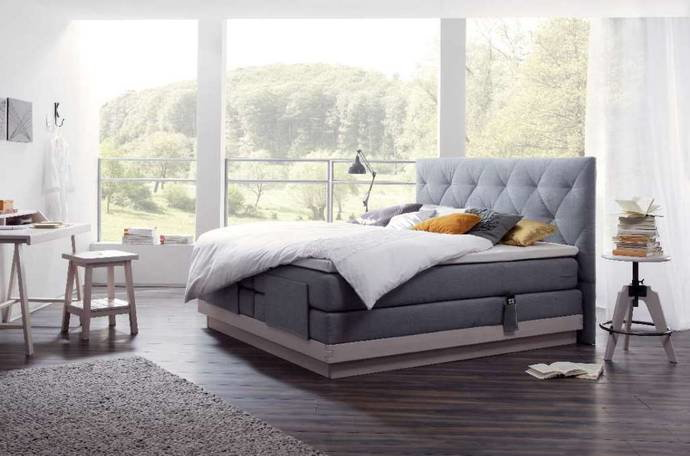 boxspring bett von eastborn superba riposa tempur carpediem hasena. Black Bedroom Furniture Sets. Home Design Ideas