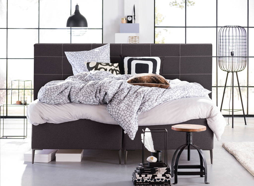 eastborn boxspring bett. Black Bedroom Furniture Sets. Home Design Ideas